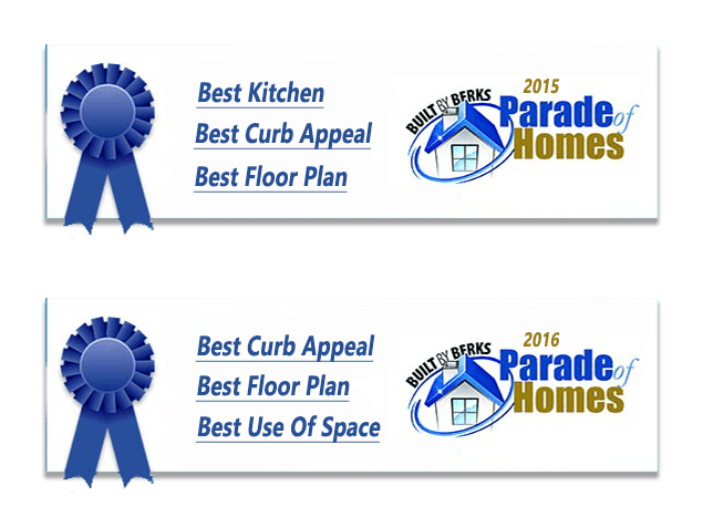 Berks county Parade Of Homes Winner